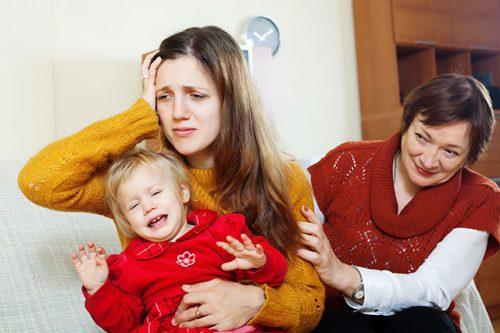 estrés después del parto